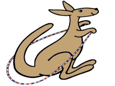 Cartoon Kangaroo